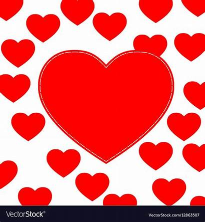 Hearts Background Vector Royalty