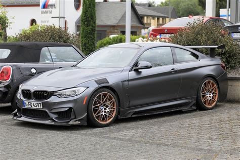 bmw m4 to get swan song bmw m4 gts seen testing gtspirit
