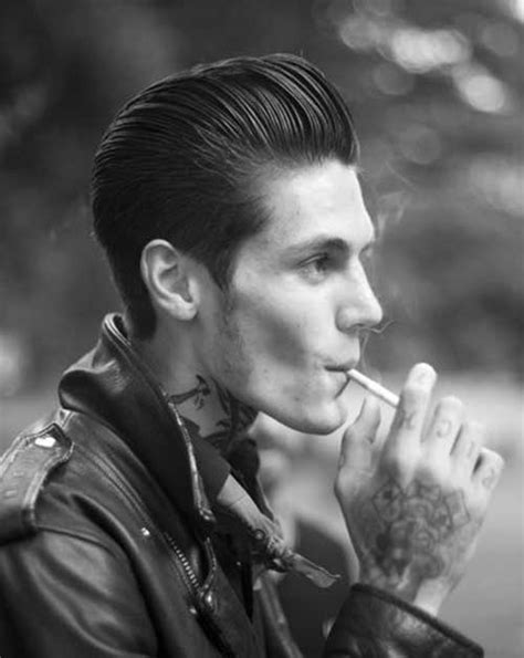 50s Greaser Hairstyles by 10 New Mens Hair Slicked Back Mens Hairstyles 2018