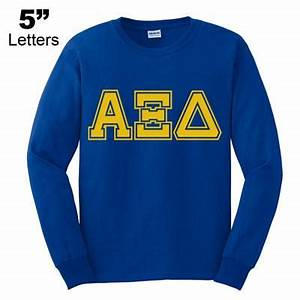 greek varsity letter printed crewneck sweatshirt With greek letter sweatshirt generator