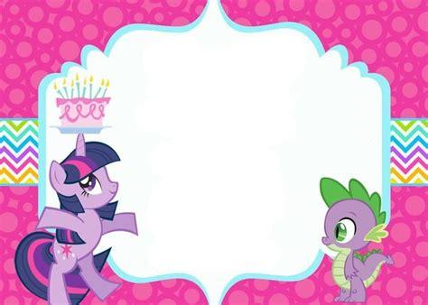 pony invitation template   pony