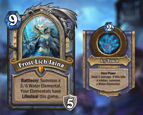 hearthstone top decks frozen throne of the frozen throne card reveal livestream