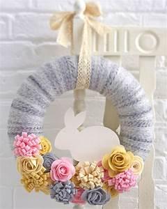 How to Make a Felt Easter Bunny Wreath - Hobbycraft Blog