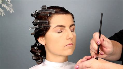 1920 Hairstyles How To by 1920s Bridal Hair And Makeup Tutorial