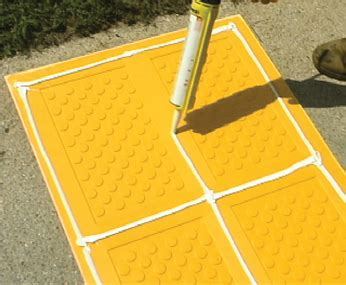 surface applied detectable warning systems  solutions