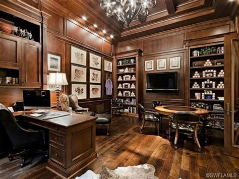 traditional home office baseball collection home