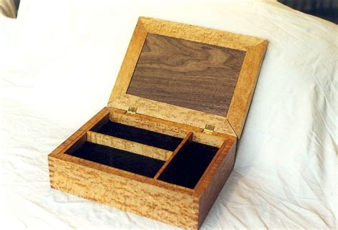 hand  jewelry box  sheppards custom woodworking llc