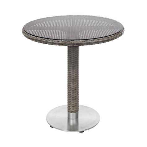 tavolino da giardino tavolino in rattan da esterno tondo wessex brigros