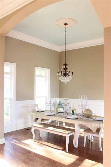 paint color ivory brown by valspar light blue ceiling