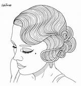 Coloring Adult Makeup Drawing Shakira Colouring Therapy Retro Erotica Drawings Printable Sheets Tomorrow Omeletozeu Sneak Peek Fabric Gemerkt Comic Charts sketch template