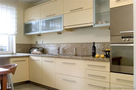 kitchen idea of the day modern cream colored kitchens