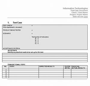 software test plan template word - 10 useful test case templates to download for free