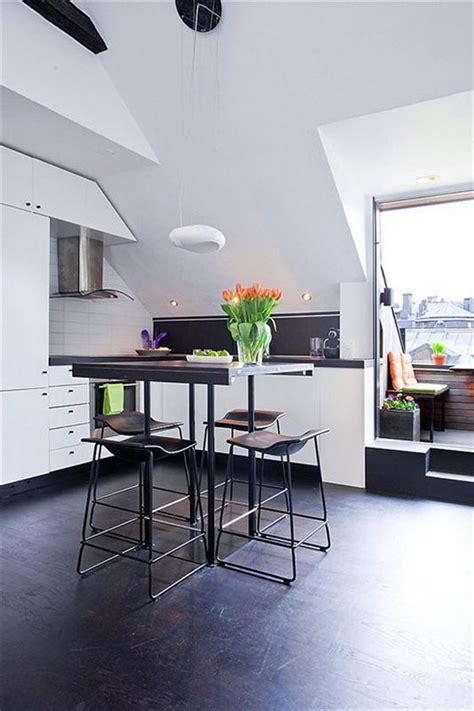 Space-efficient Lovely 54 Sqm Scandinavian apartment