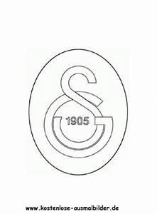 Galatasaray Istanbul Vereinswappen Fussball Ausmalen