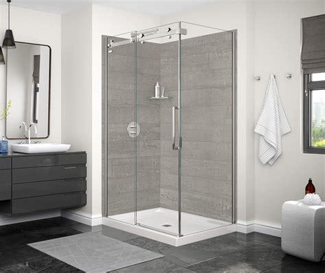 designer series utile factory rough corner shower