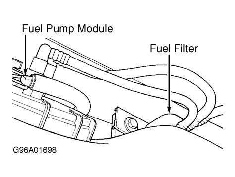 2005 Dodge Grand Caravan Fuel Filter Location by No Comment Added