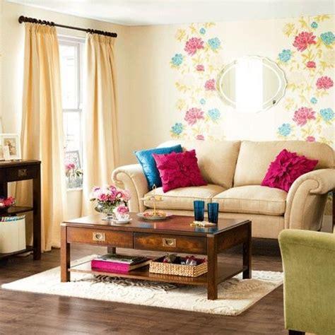 cheerful summer living room decor ideas digsdigs