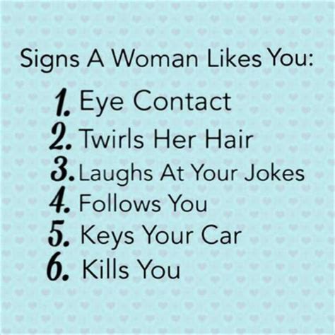 6 Signs A Woman Likes You  Realfunny. Getting Car Insurance Online. Satellite Network Providers Hvac Phoenix Az. Current Fha Loan Interest Rates. Ft Worth Water Gardens The Best Forex Brokers. Recent Car Accidents In Maryland. Firewall Software List Choosing Car Insurance. Diabetes Cure Naturally Stream Electric Rates. Culinary Schools In New York City