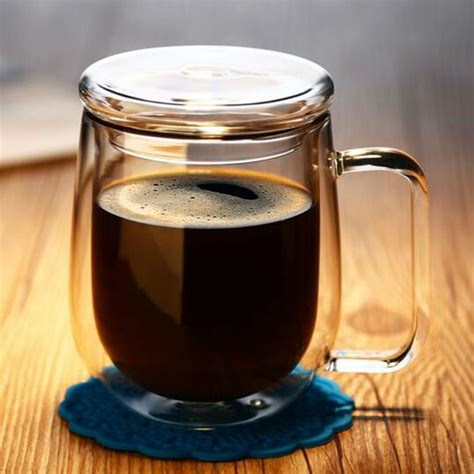 Insulated glass coffee mug and keep your preciously brew steaming hot for hours. Double Wall Insulated Glass Coffee Cups | Foto Bugil Bokep 2017