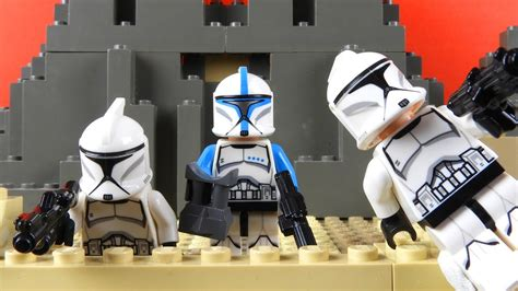 A Clone Wars Tale Lego Star Wars Stop Motion Youtube