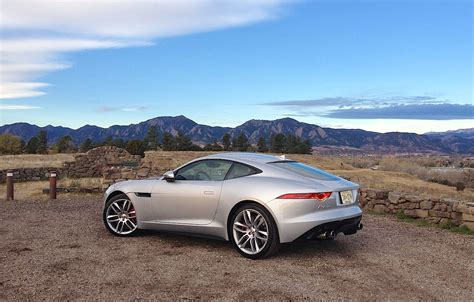 jaguar  type coupe  fall colors gallery