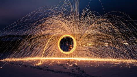 steel wool photography youtube