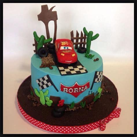 sugar design  llady cakes speedy mcqueen childish