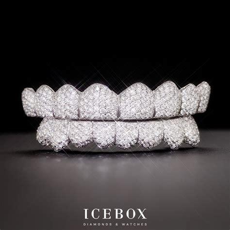 icebox custom grillz gallery diamond teeth pave