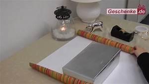 Geschenke Richtig Verpacken : tutorial geschenke sch n verpackt youtube ~ Markanthonyermac.com Haus und Dekorationen