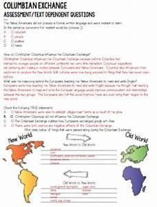 The Columbian Exchange Columbian Exchange By Susie Rios Panicked Teacher Tpt