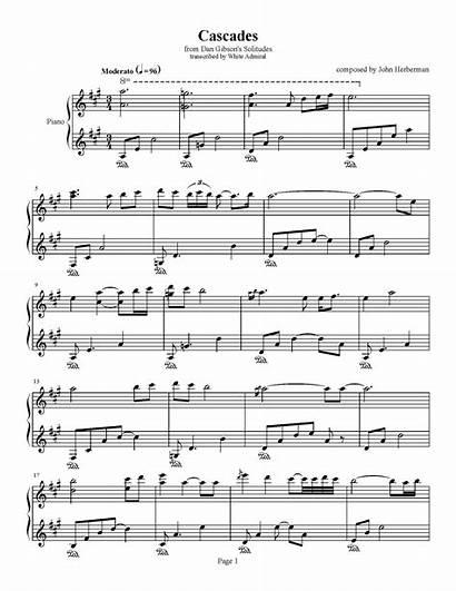 Cascades Herberman John Dan Gibson Solitudes Piano
