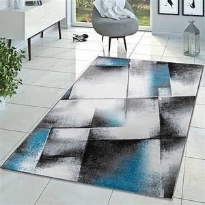 Teppich Modern Wohnzimmer : designer teppich wohnzimmer modern kurzflor teppich real ~ Lizthompson.info Haus und Dekorationen