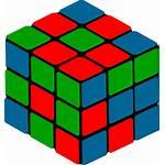 Cube Shape Rubik Transparent Clipart Cubic Cubes