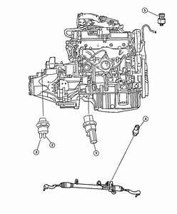 Chrysler Crossfire Switch  Oil Pressure