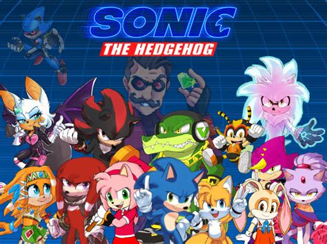 Sonic the Hedgehog Movie Characters Collection by ...