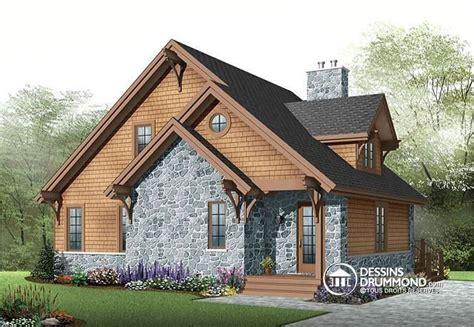 chalet style rustique  chambres foyer mezzanine plancher  aire ouverte vestibule