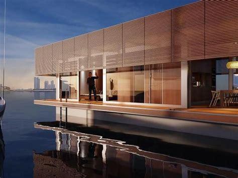 Floating House Kaufen by Inside Waterlovt S Floating Home In Uae Floating Houses