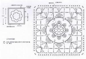 Ergahandmade  Baby Blanket Granny Square   Diagrams