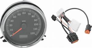 Drag Specialties Speedo Speedometer  U0026 Harness For 1998