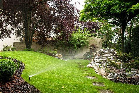Professionelle Gartenbewässerung  Egli Gartenbau Ag