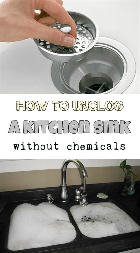 How To Unclog A Kitchen Sink Without Chemicals