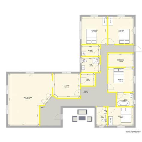 maison plain pied 4 chambres plan de maison plain pied 4 chambres pdf ventana