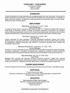 12 business resume examples recentresumescom for Free business resume template
