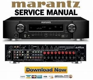 Marantz Nr1602 Service Manual And Repair Guide