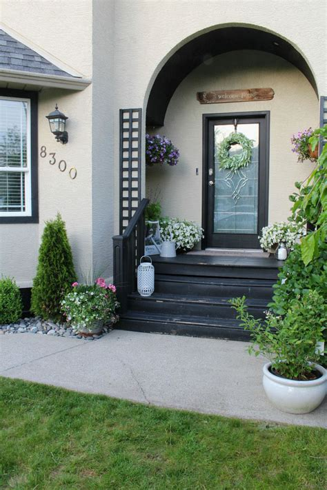 Decorating Ideas For Front Porch by Summer Front Porch Decorating Ideas Clean And Scentsible