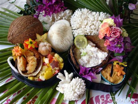cuisine tahitienne traditionnelle les spécialités gastronomiques