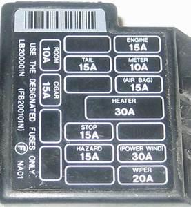 Mazda Mx 5 Miatum Fuse Box Diagram