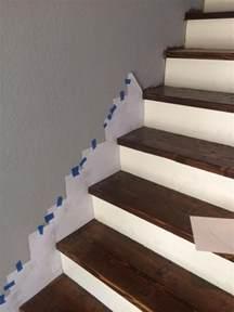 skirt board  preexisting stairs