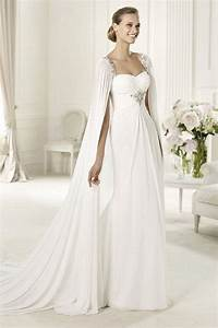 14 cape wedding dresses for a trendy and new bridal look With wedding dress with cape