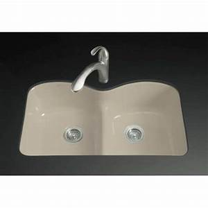 Kohler Langlade U00ae Undermount Cast Iron Kitchen Sink K